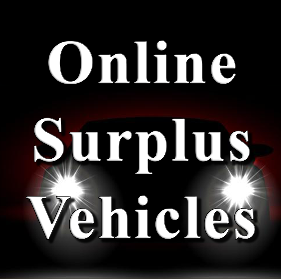 10/10/19 ~ Surplus Vehicles