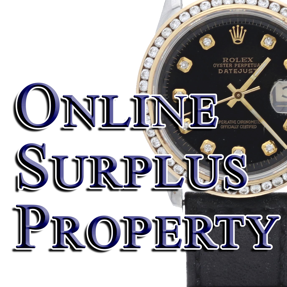 10/30/18 - Online Surplus Property (Rolex Watches)
