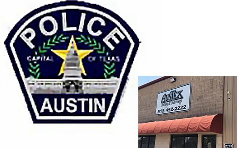 **NEW TIME ~ Austex Towing and Recovery & City of Austin Police Department
