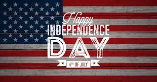 Our office will be closed in Observance of Independence Day ~ Stay safe!